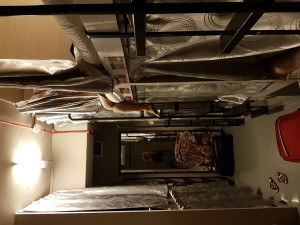 Billige Hostels haben bei den Mietpreisen nicht viel Platz für ihre Gäste