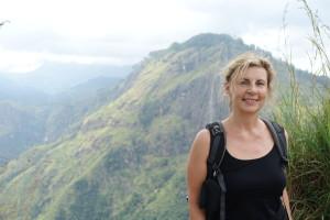 Zum Little adams peak, einem Touristen highlight