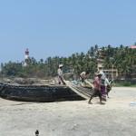 Kaum Touristen, aber viel interessantes, wie hier diese Fischer