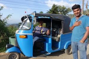 Trike, DAS Verkehrsmittel in Sri Lanka